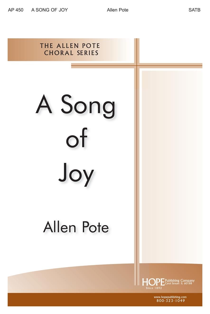 Song of Joy A - SATB Cover Image