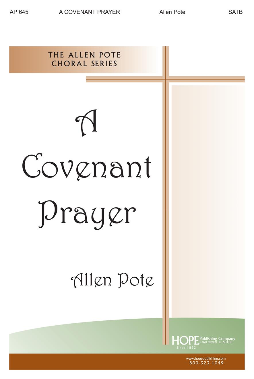 Covenant Prayer A - SATB Cover Image