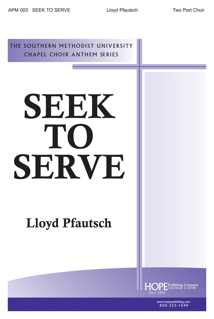 Seek to Serve - Two-Part Cover Image
