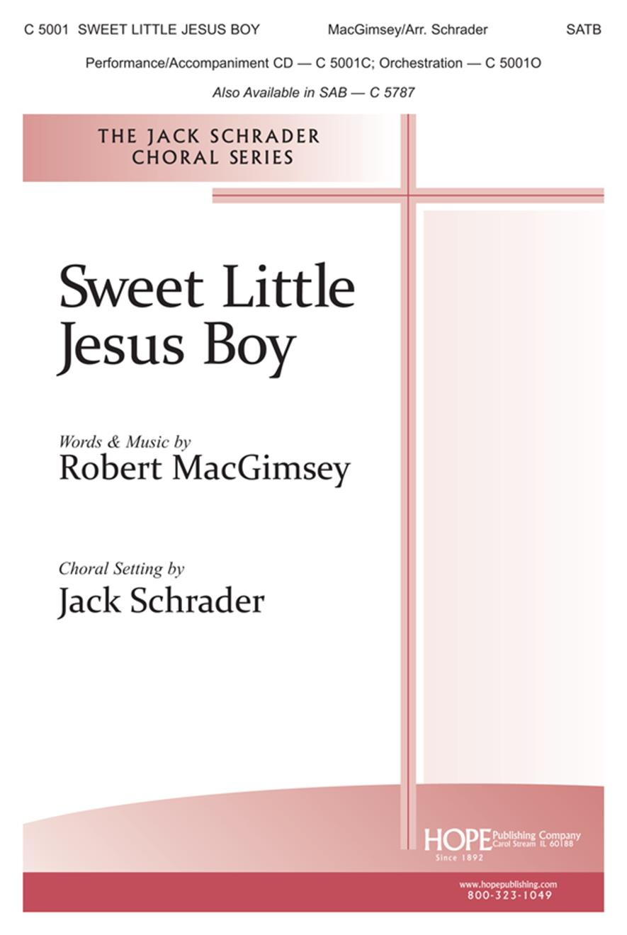 Sweet Little Jesus Boy - SATB Cover Image