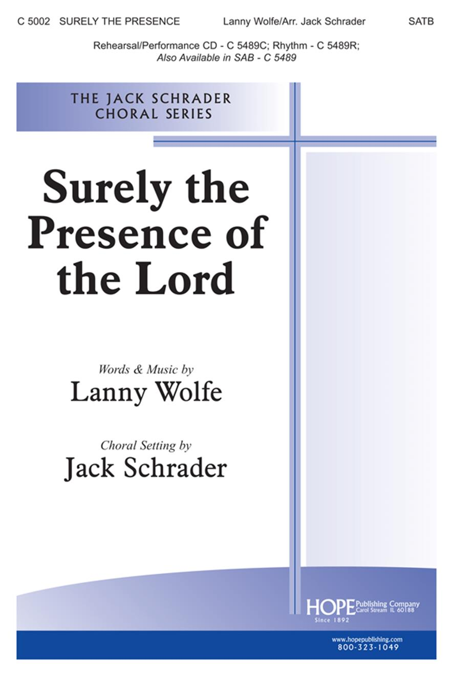Surely the Presence of the Lord - SATB Cover Image