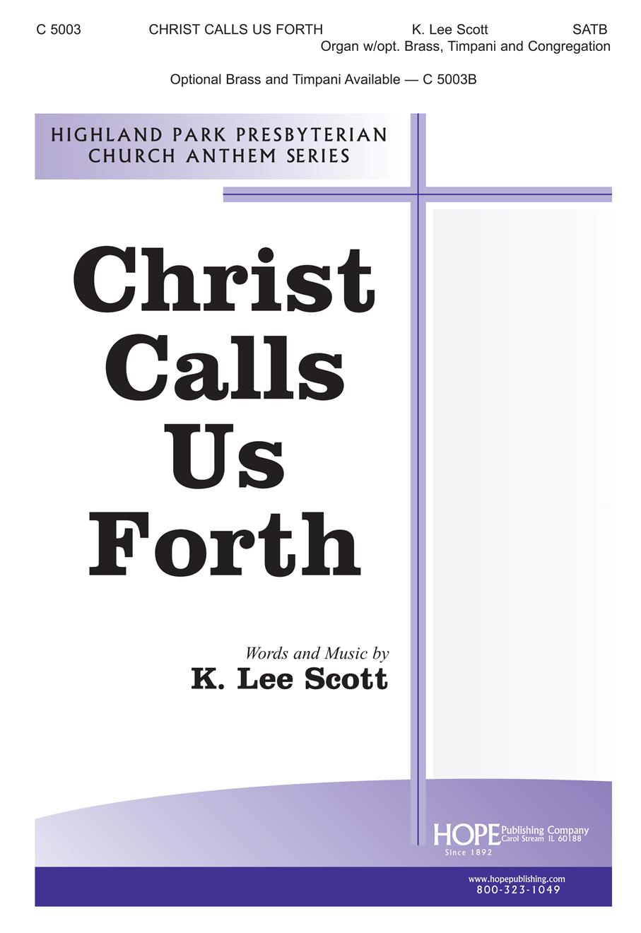 Christ Calls Us Forth - SATB Cover Image