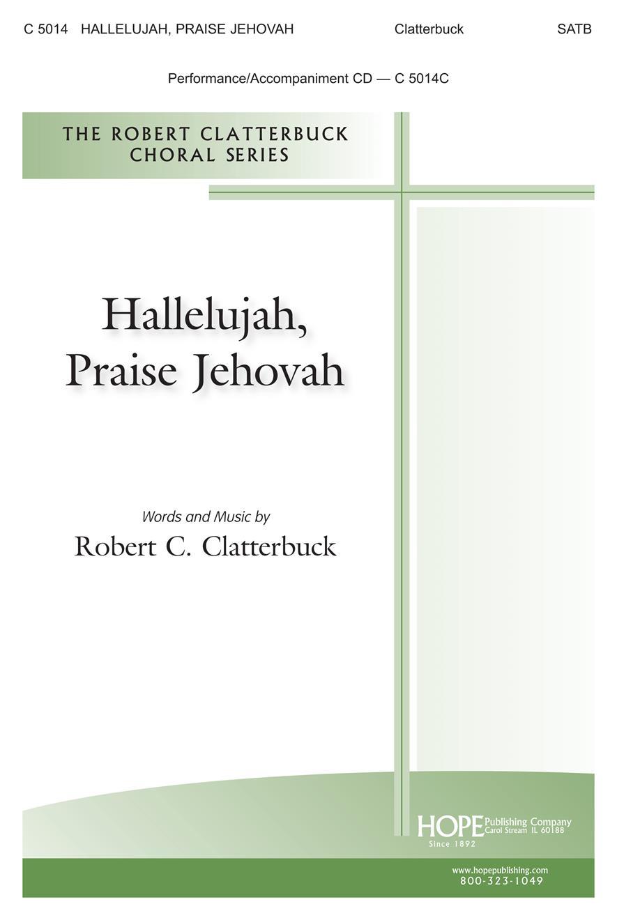 Hallelujah Praise Jehovah - SATB Cover Image