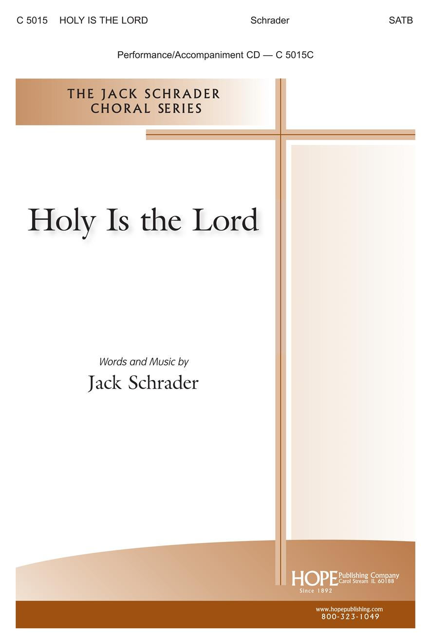 Holy Is the Lord - SATB Cover Image