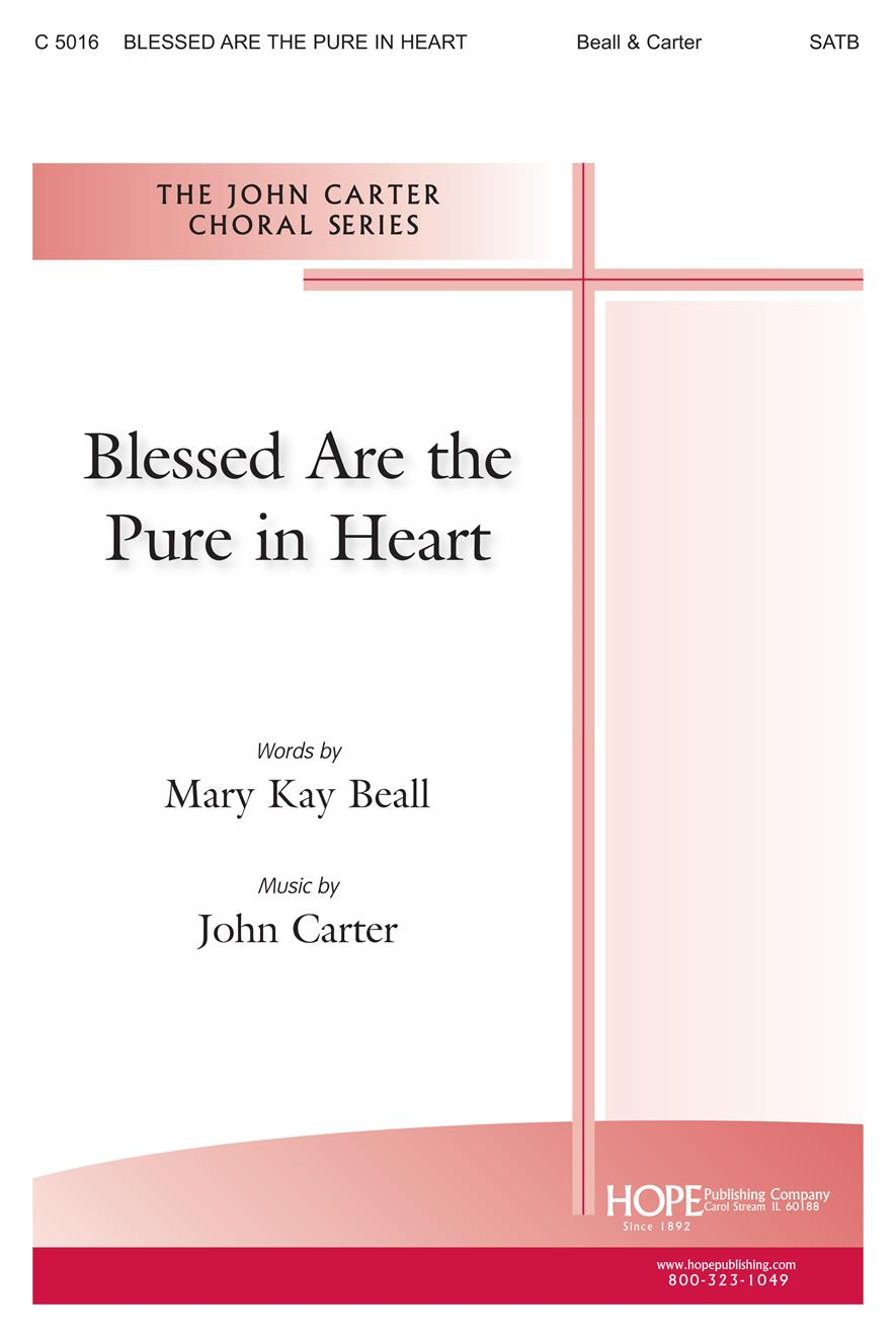 Blessed Are the Pure in Heart - SATB Cover Image