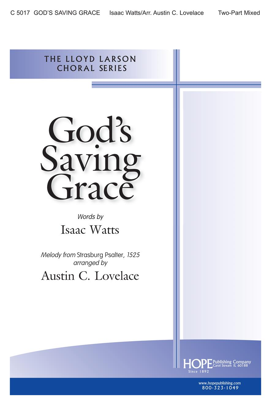 God's Saving Grace - Two-Part Mixed Cover Image