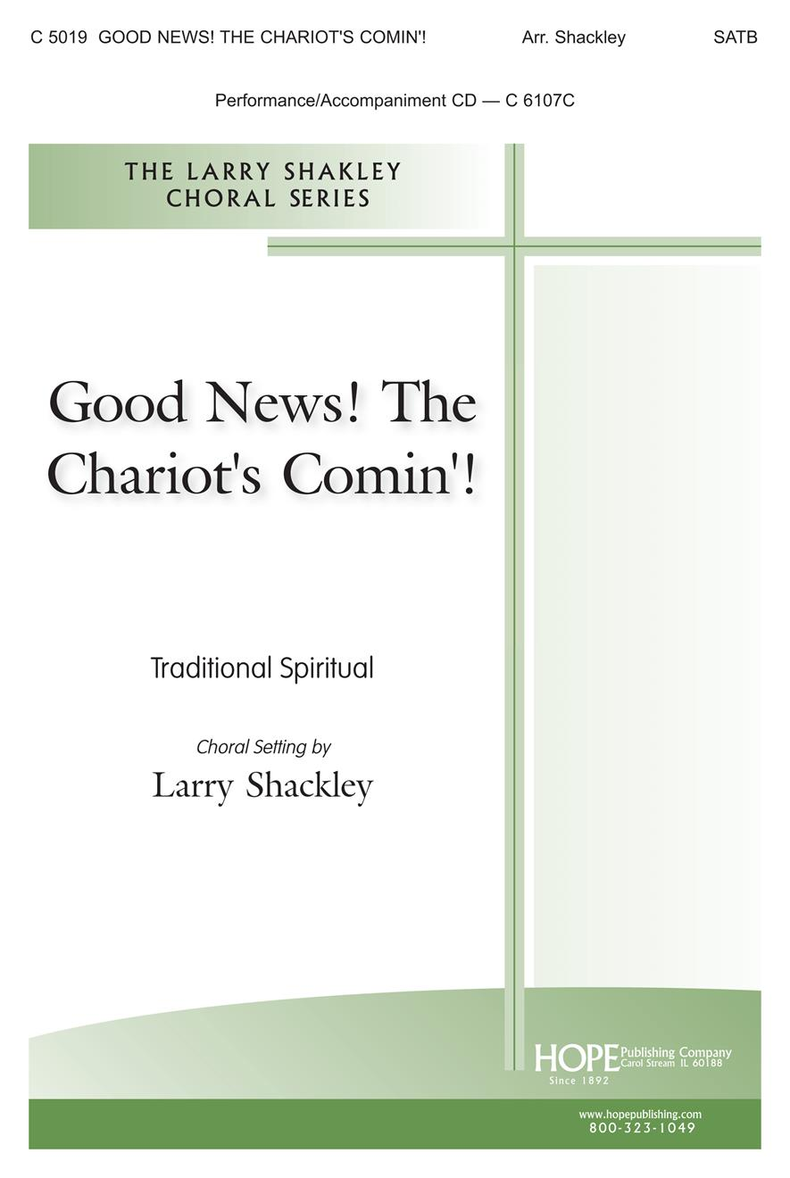 Good News the Chariot's Comin' - SATB Cover Image