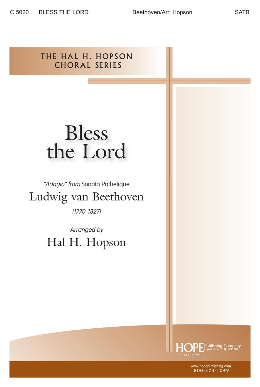 Bless the Lord - SATB Cover Image