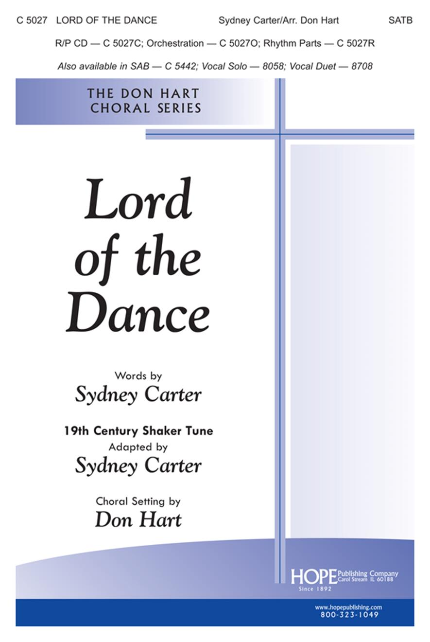 Lord of the Dance - SATB Cover Image