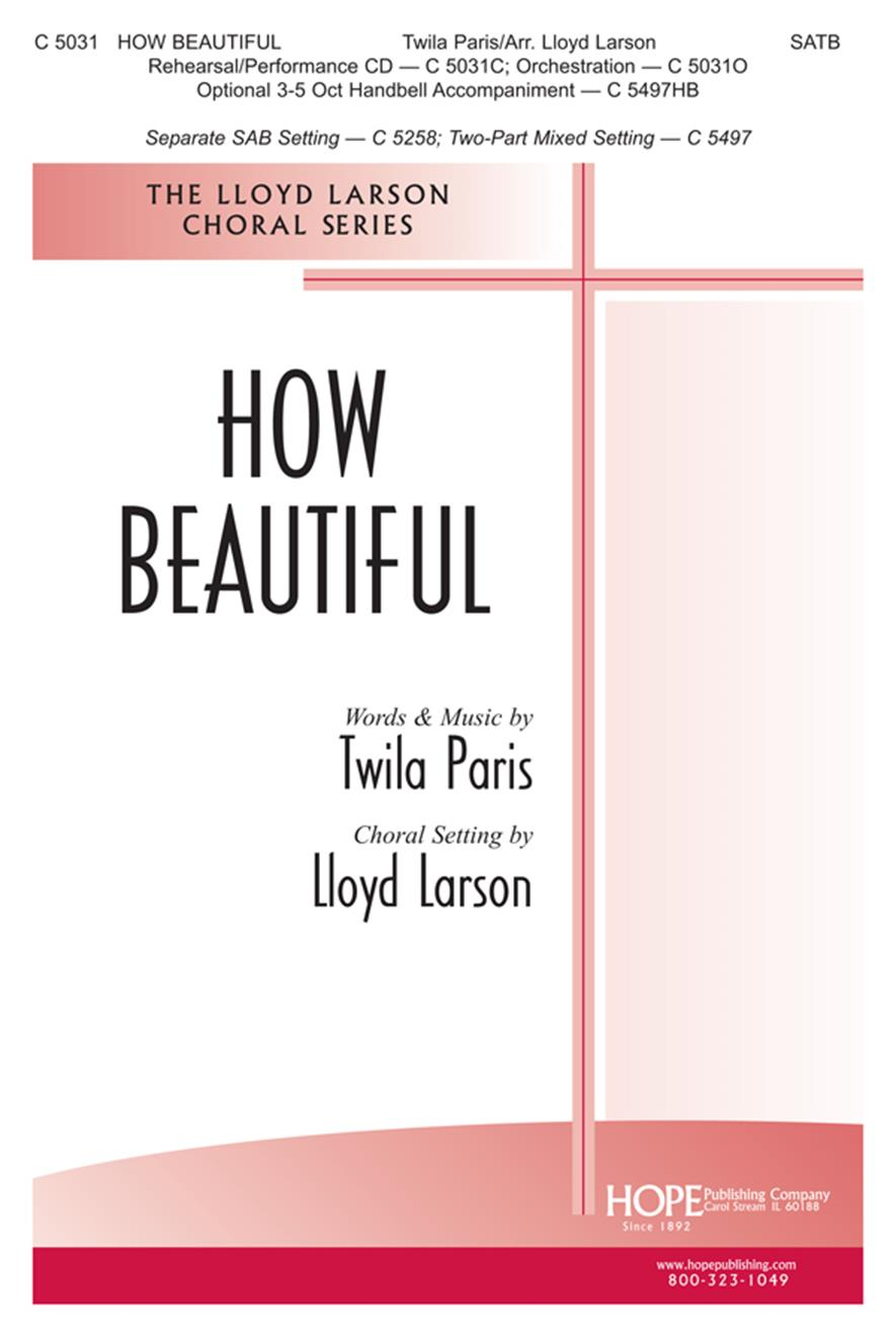 How Beautiful - SATB Cover Image