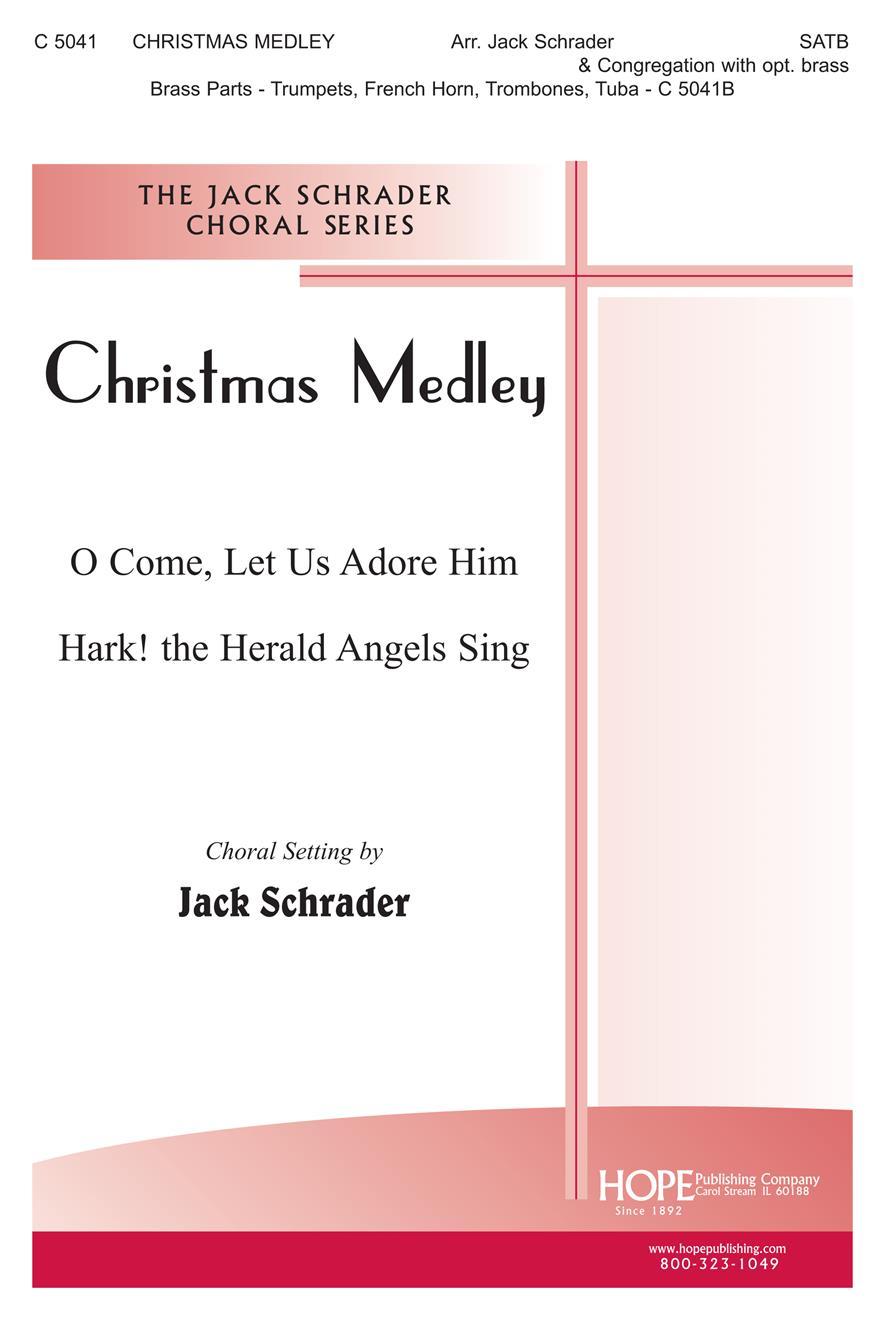 Christmas Medley - SATB Cover Image