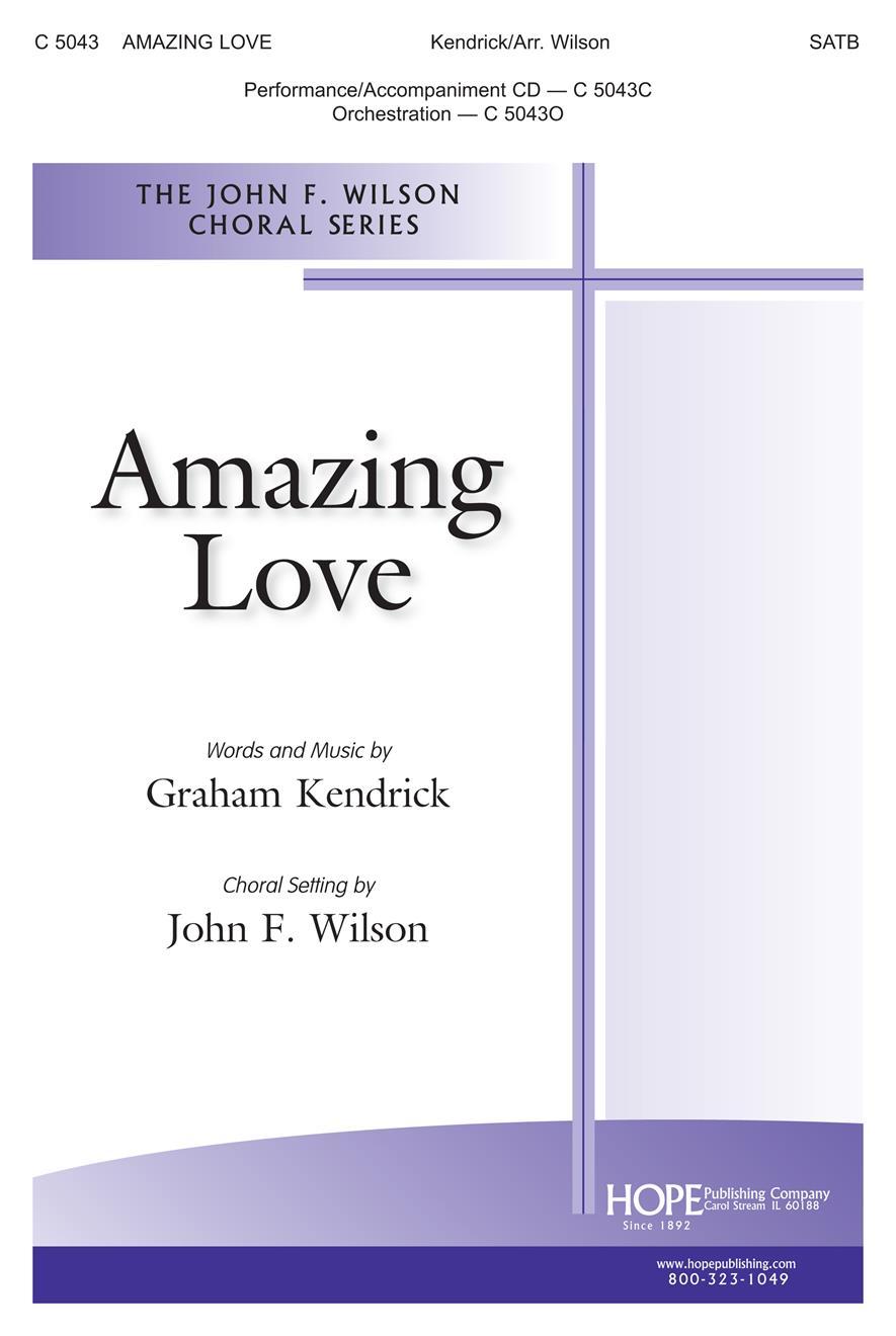 Amazing Love - SATB Cover Image