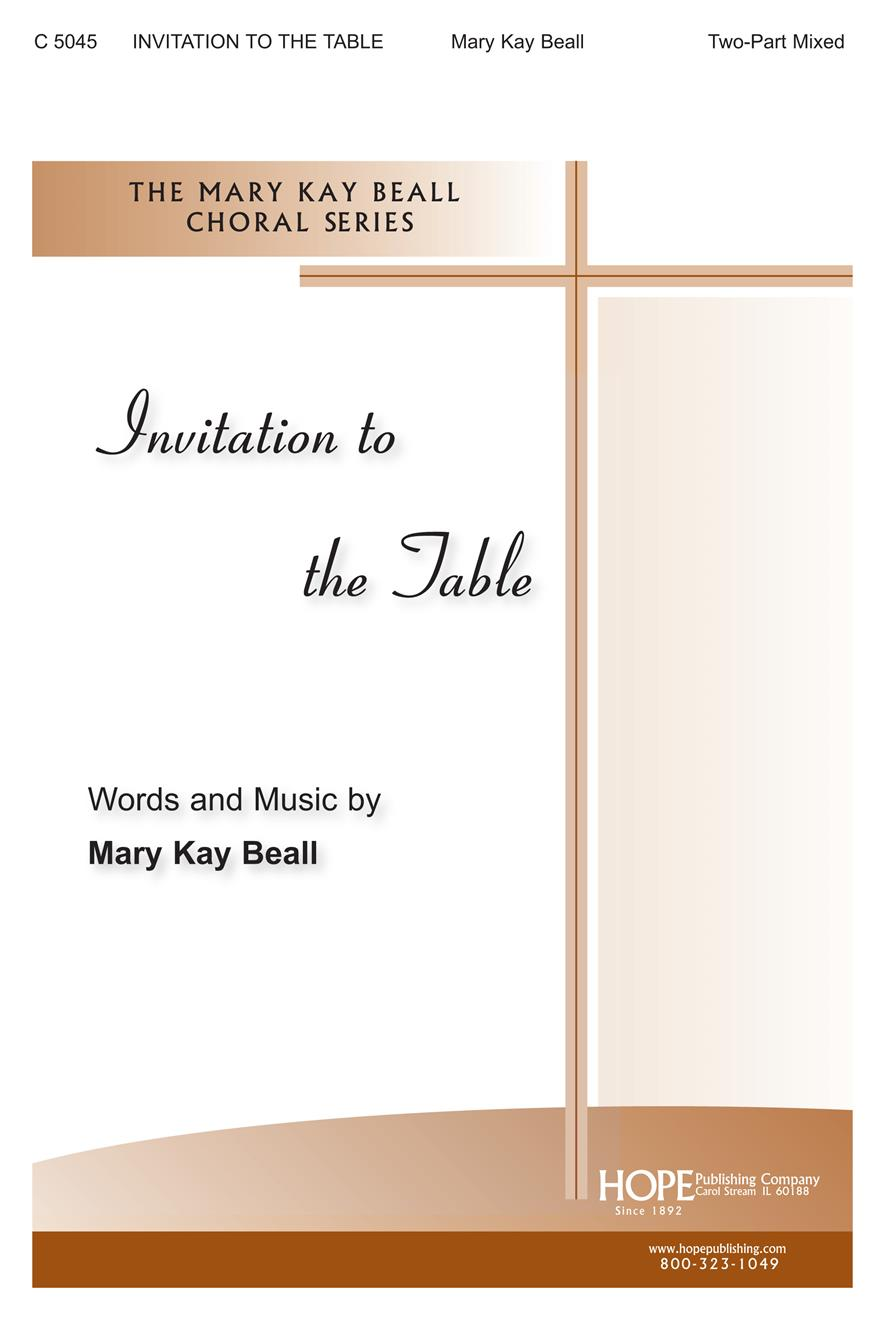 Invitation to the Table - Two Part Cover Image