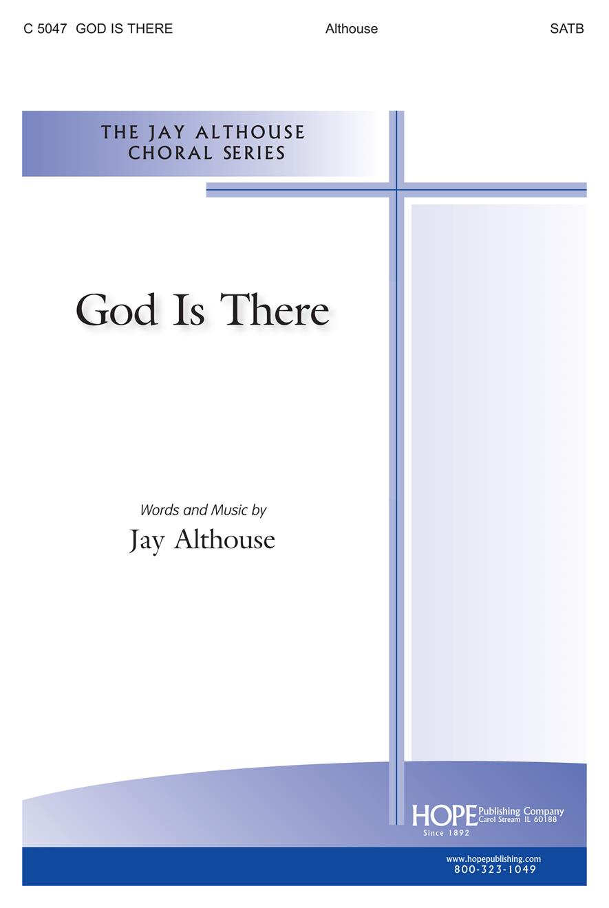 God Is There - SATB Cover Image