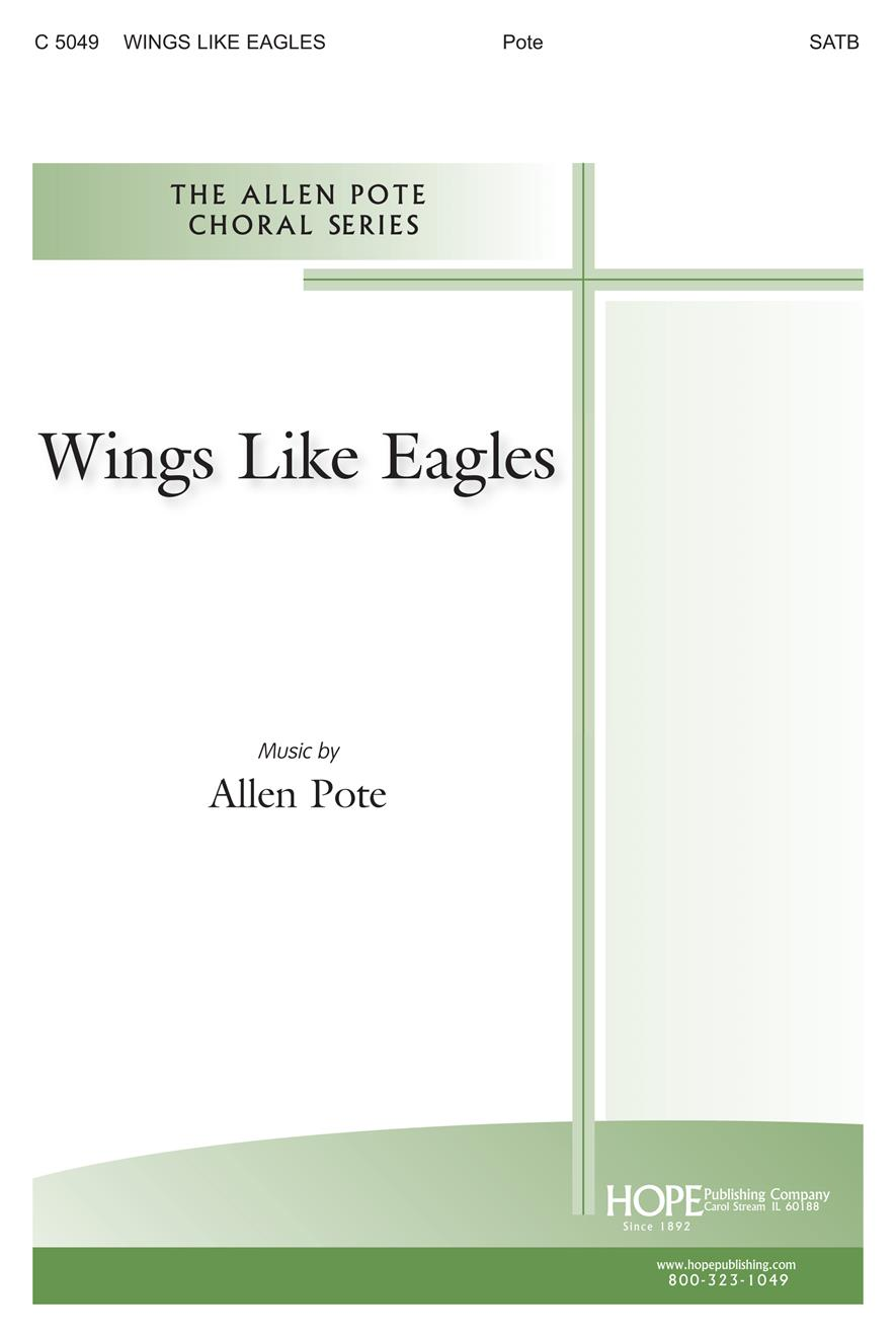 Wings Like Eagles - SATB Cover Image