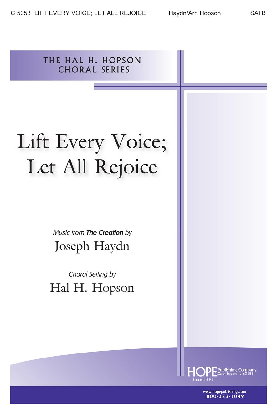 Lift Every Voice; Let All Rejoice - Two-Part Mixed Cover Image