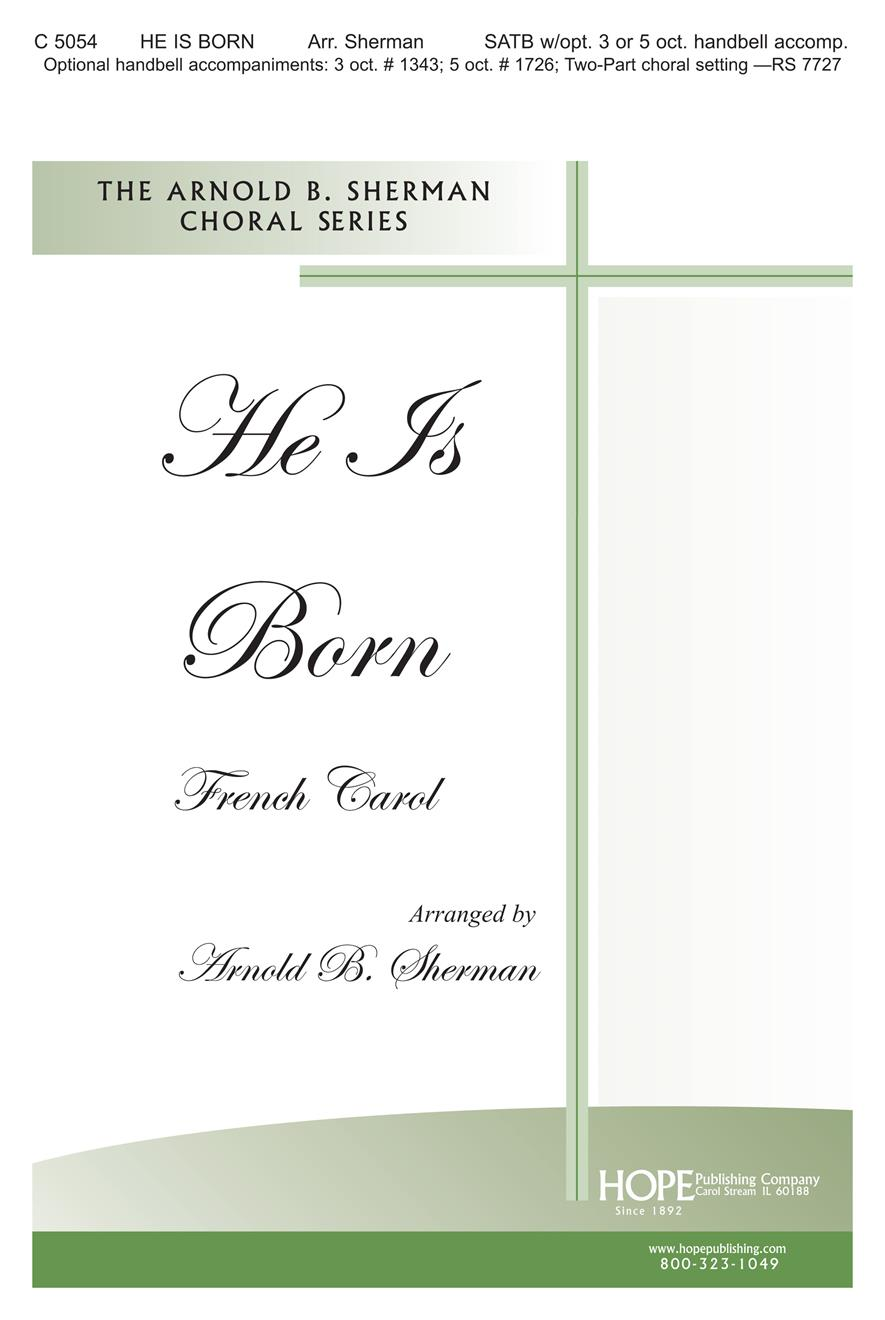 He Is Born - SATB Cover Image