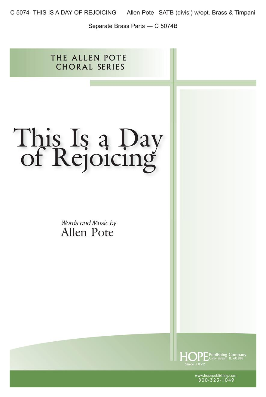 This Is a Day of Rejoicing - SATB Cover Image
