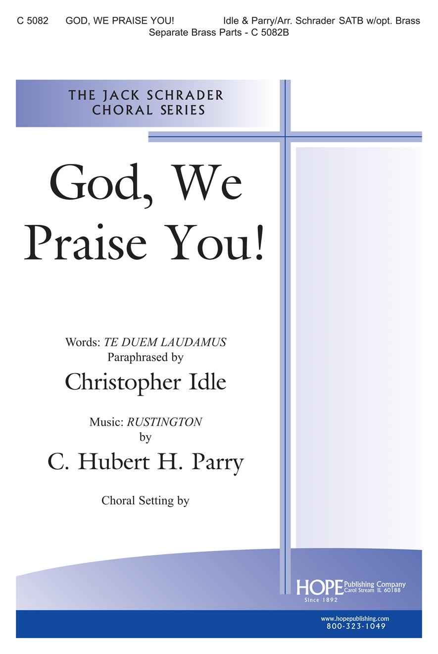 God We Praise You - SATB Cover Image