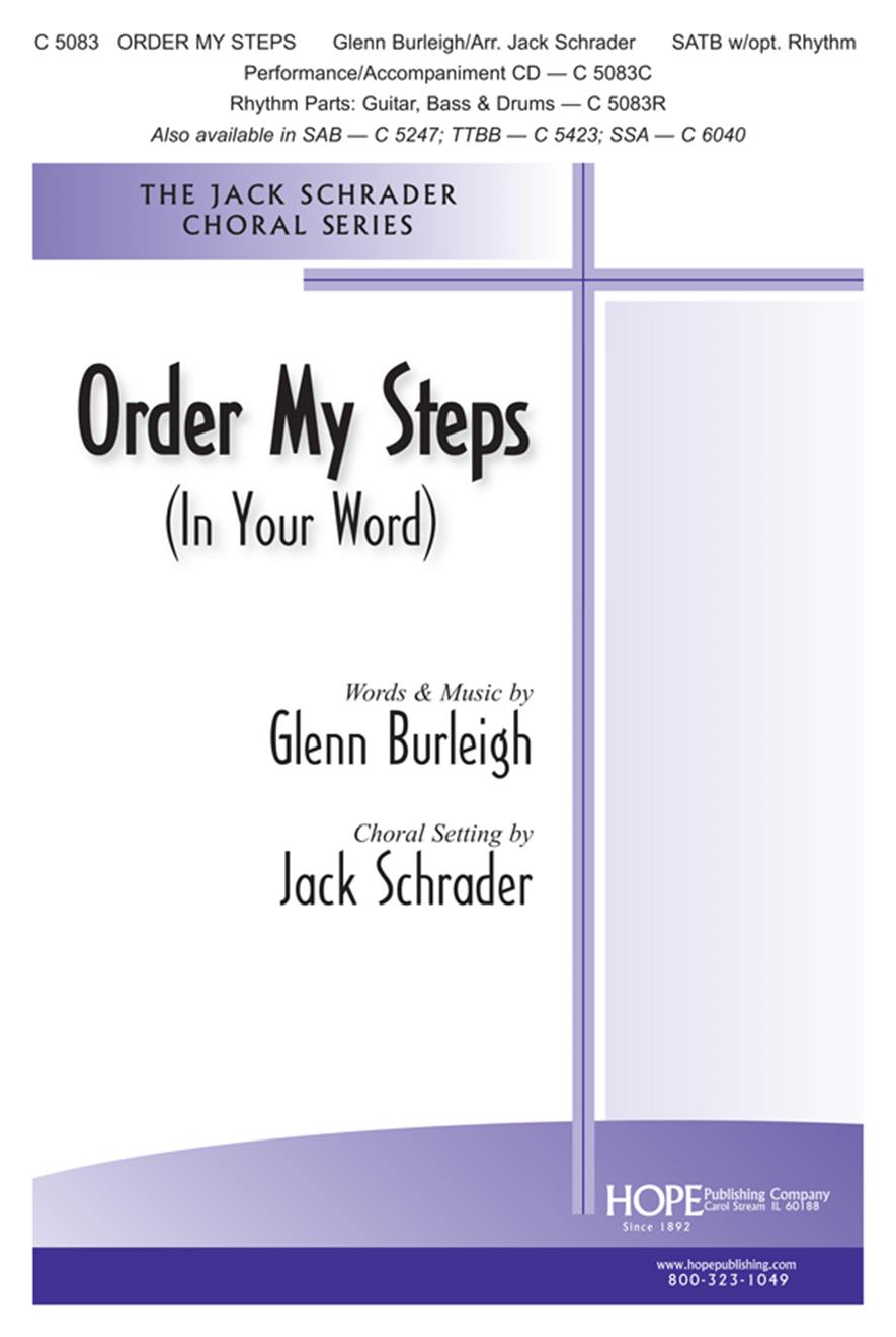 Order My Steps - SATB Cover Image