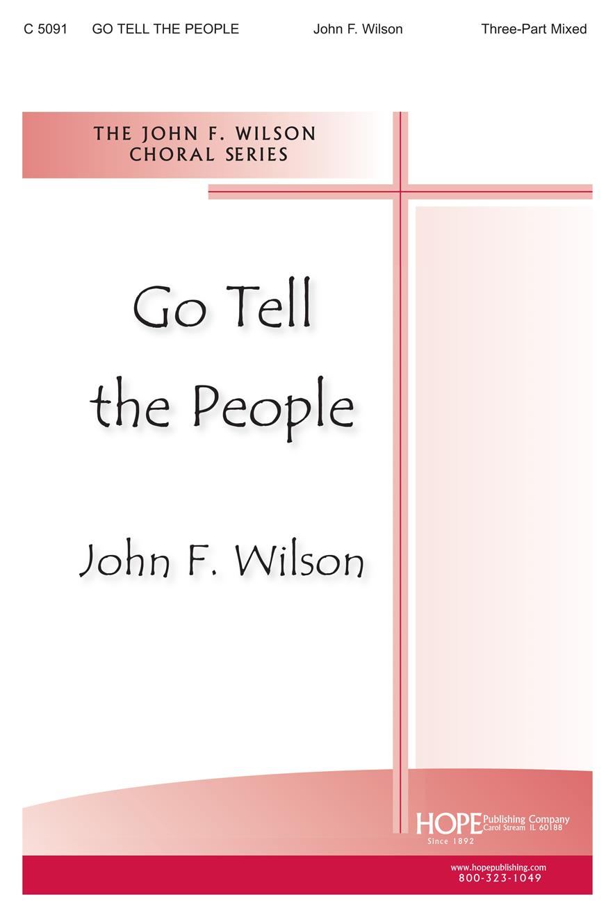 Go Tell the People - Three-Part Mixed Cover Image