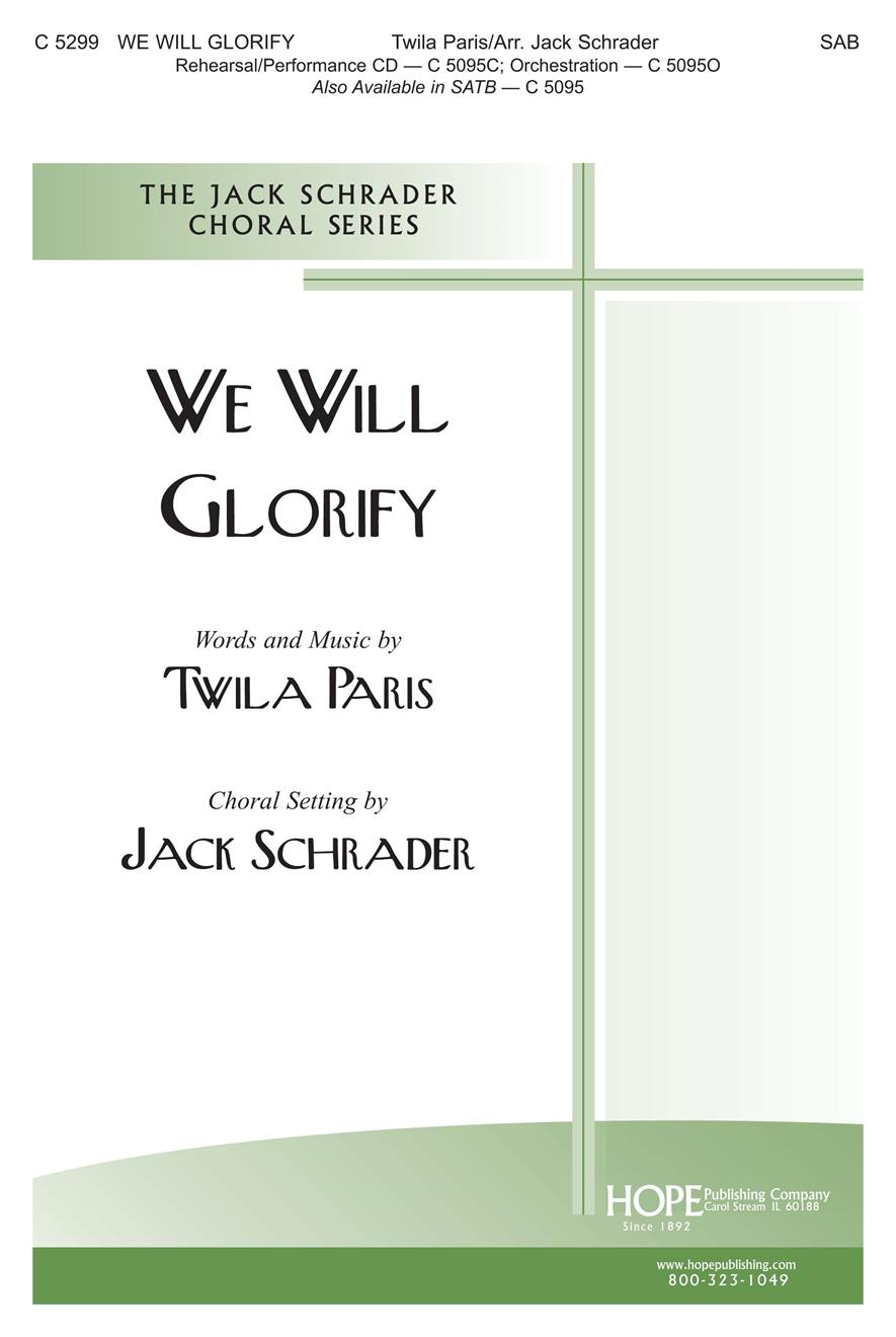 We Will Glorify - SATB Cover Image