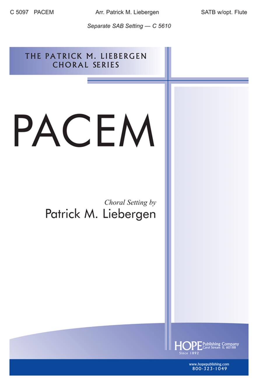 Pacem - SATB Cover Image