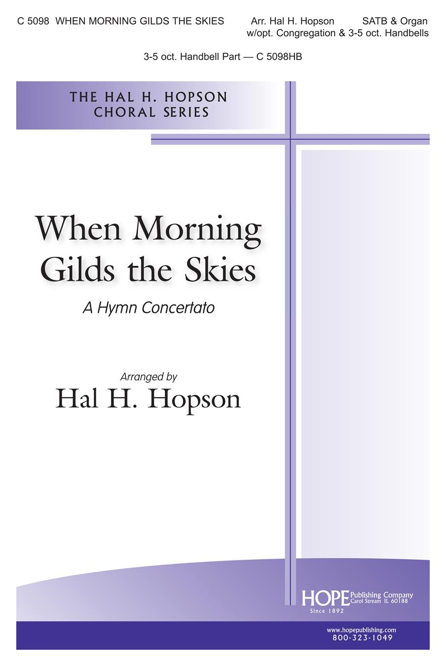 When Morning Gilds the Skies - SATB Cover Image