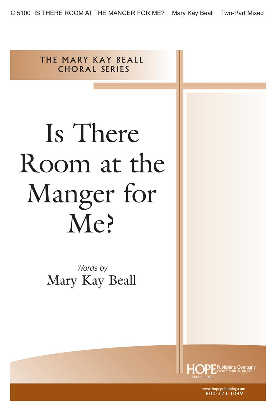 Is There Room at the Manger for Me - Two-Part Mixed Cover Image