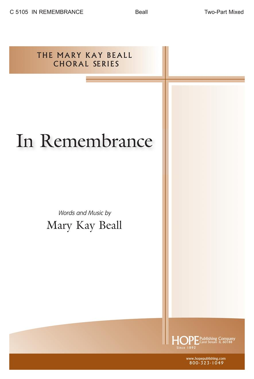 In Remembrance - Two-Part Mixed Cover Image