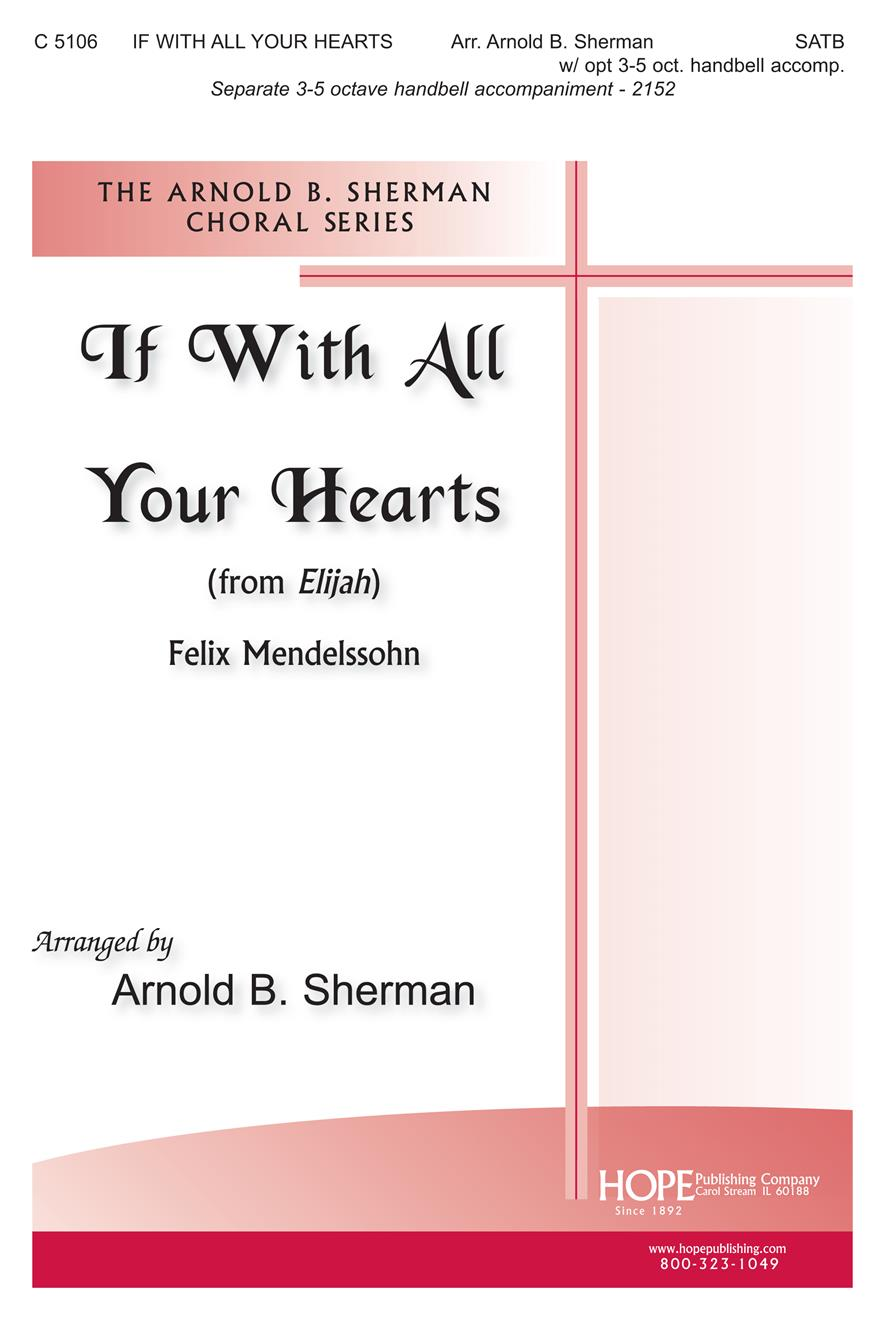 If With All Your Hearts - SATB Cover Image