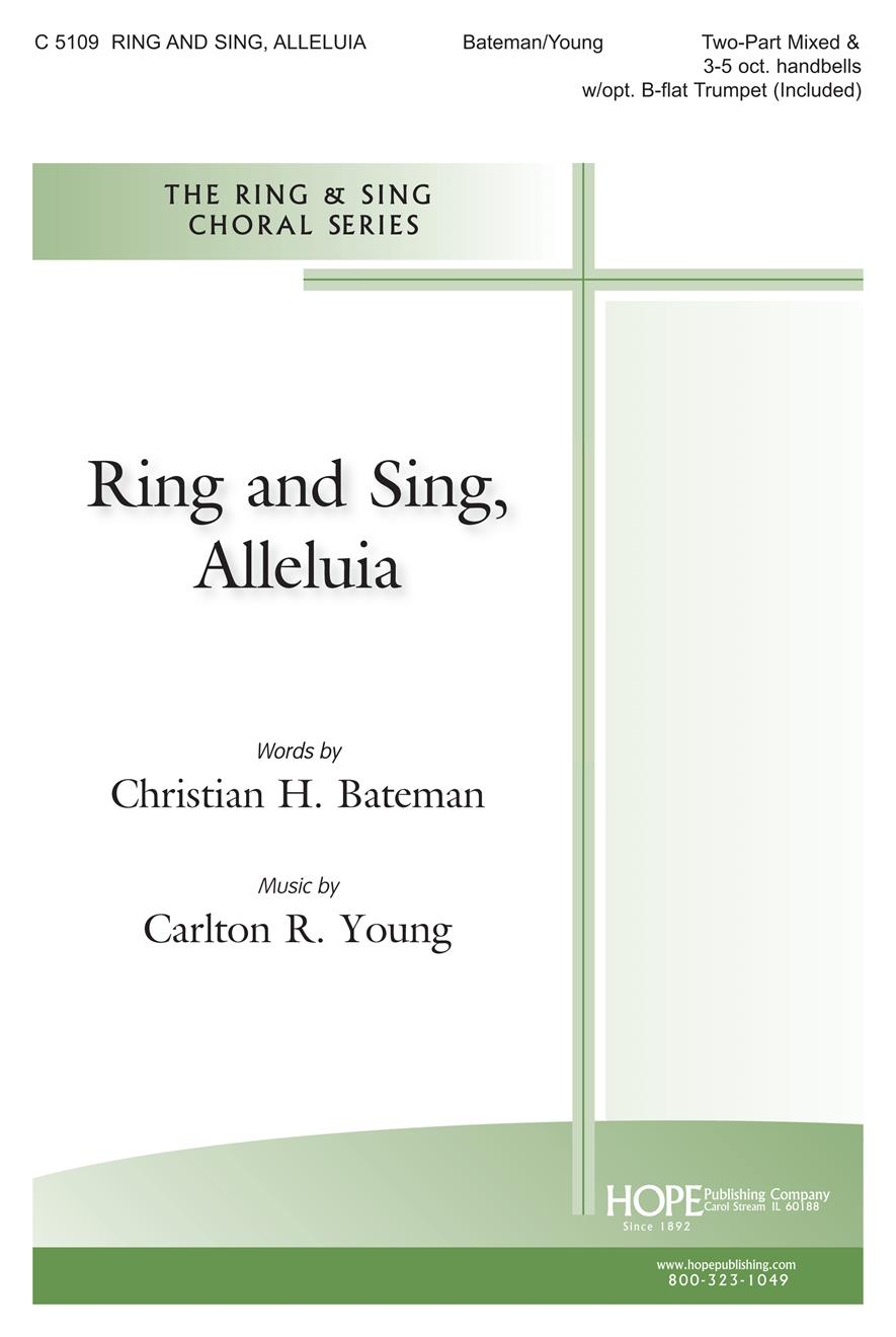 Ring and Sing Alleluia - Two-Part Cover Image