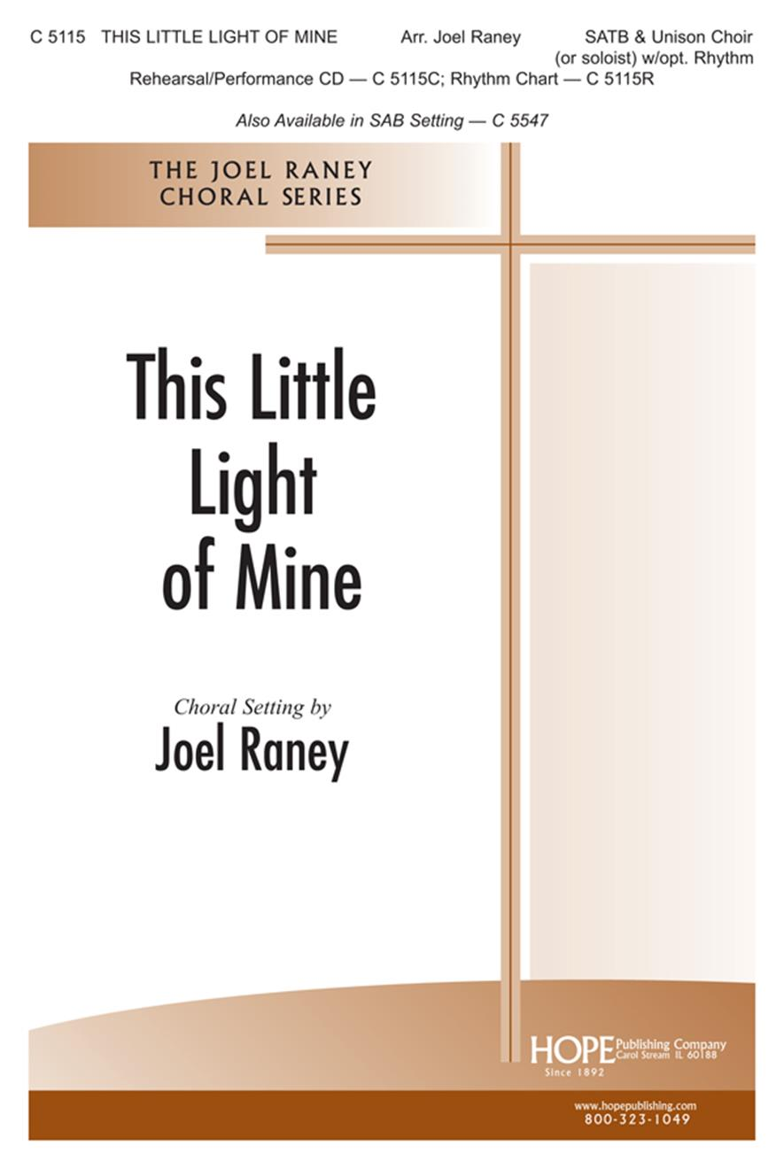 This Little Light of Mine - SATB Cover Image