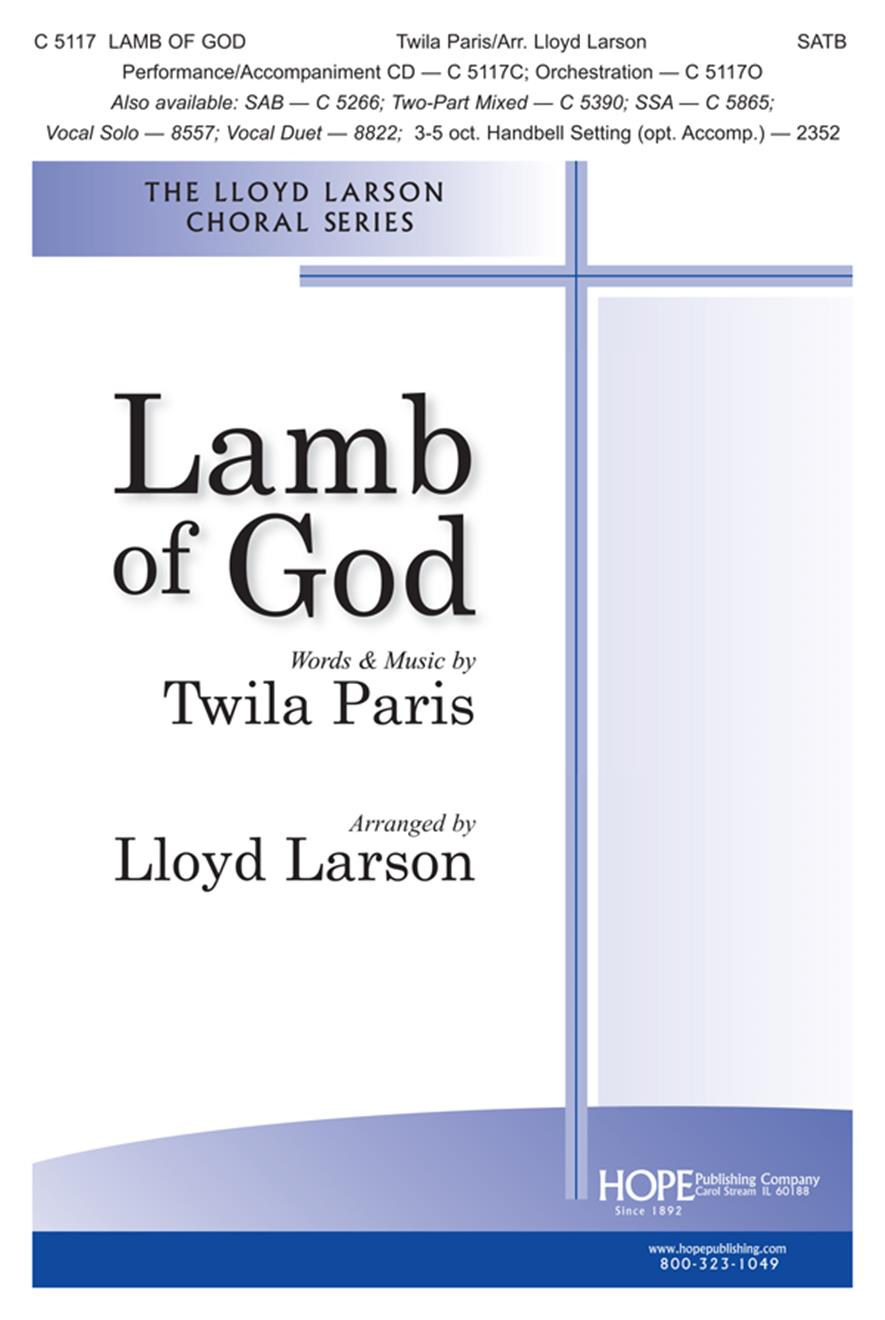 Lamb of God - SATB Cover Image