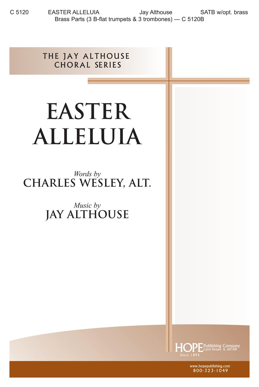 Easter Alleluia - SATB w-opt. Brass Cover Image