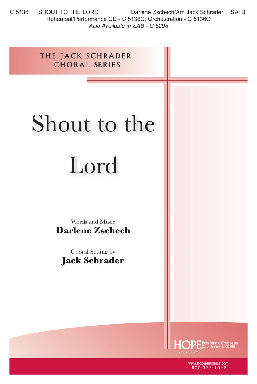 Shout to the Lord - SATB Cover Image