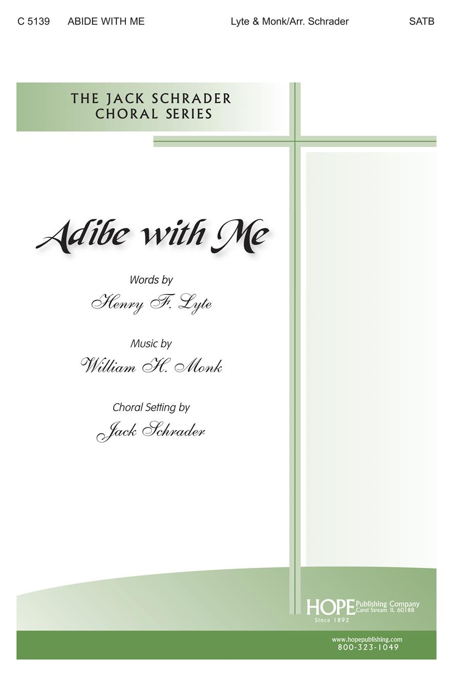 Abide With Me - SATB Cover Image