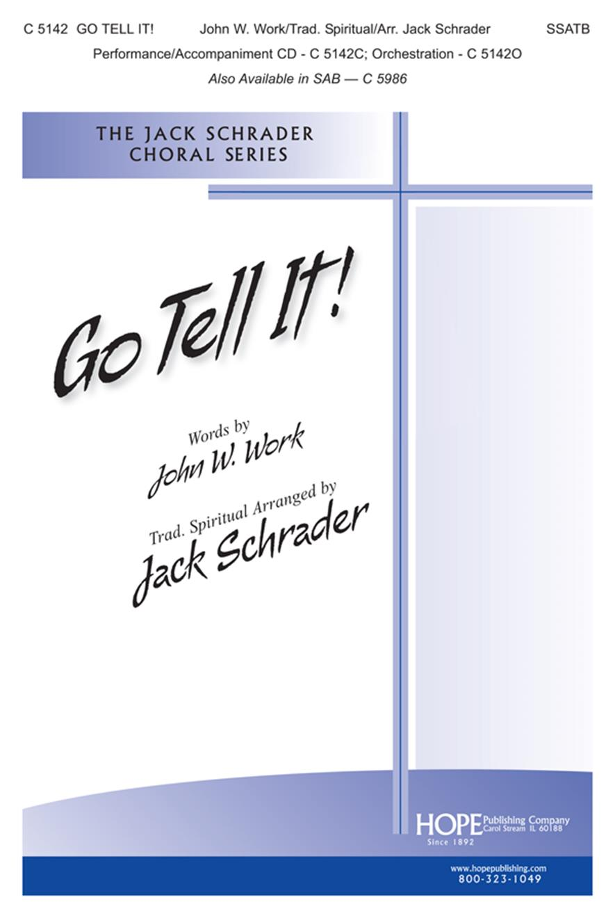 Go Tell It - SSATB Cover Image