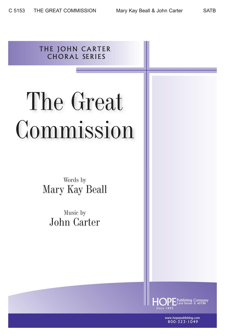 Great Commission The - SATB Cover Image