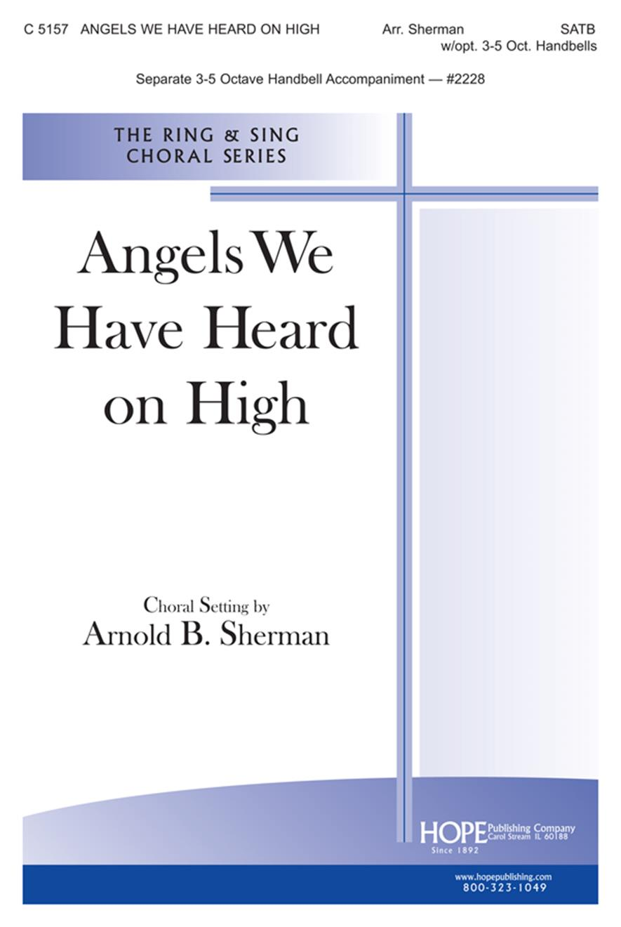 Angels We Have Heard on High - SATB Cover Image