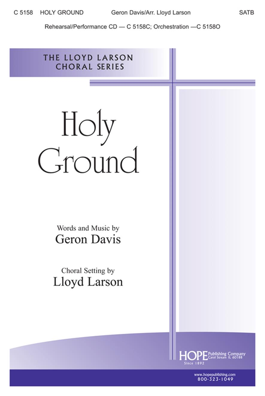 Holy Ground - SATB Cover Image