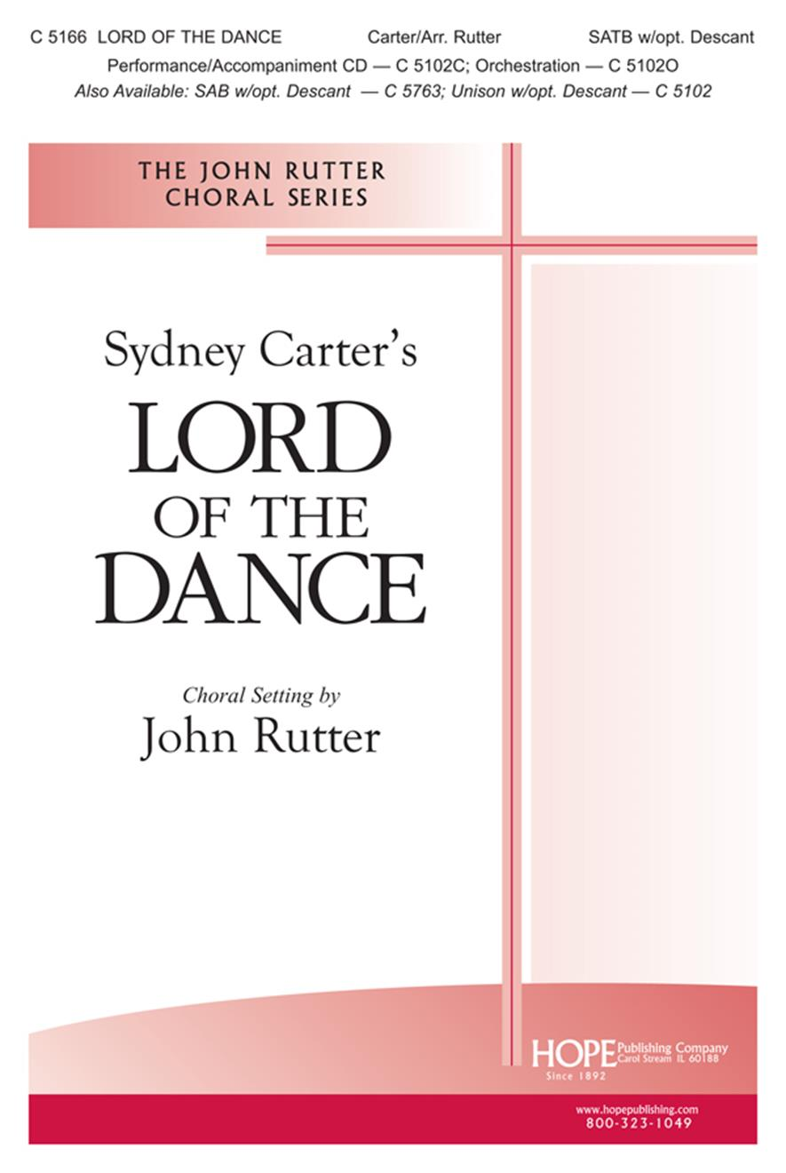 Lord of the Dance - Rutter - SATB Cover Image