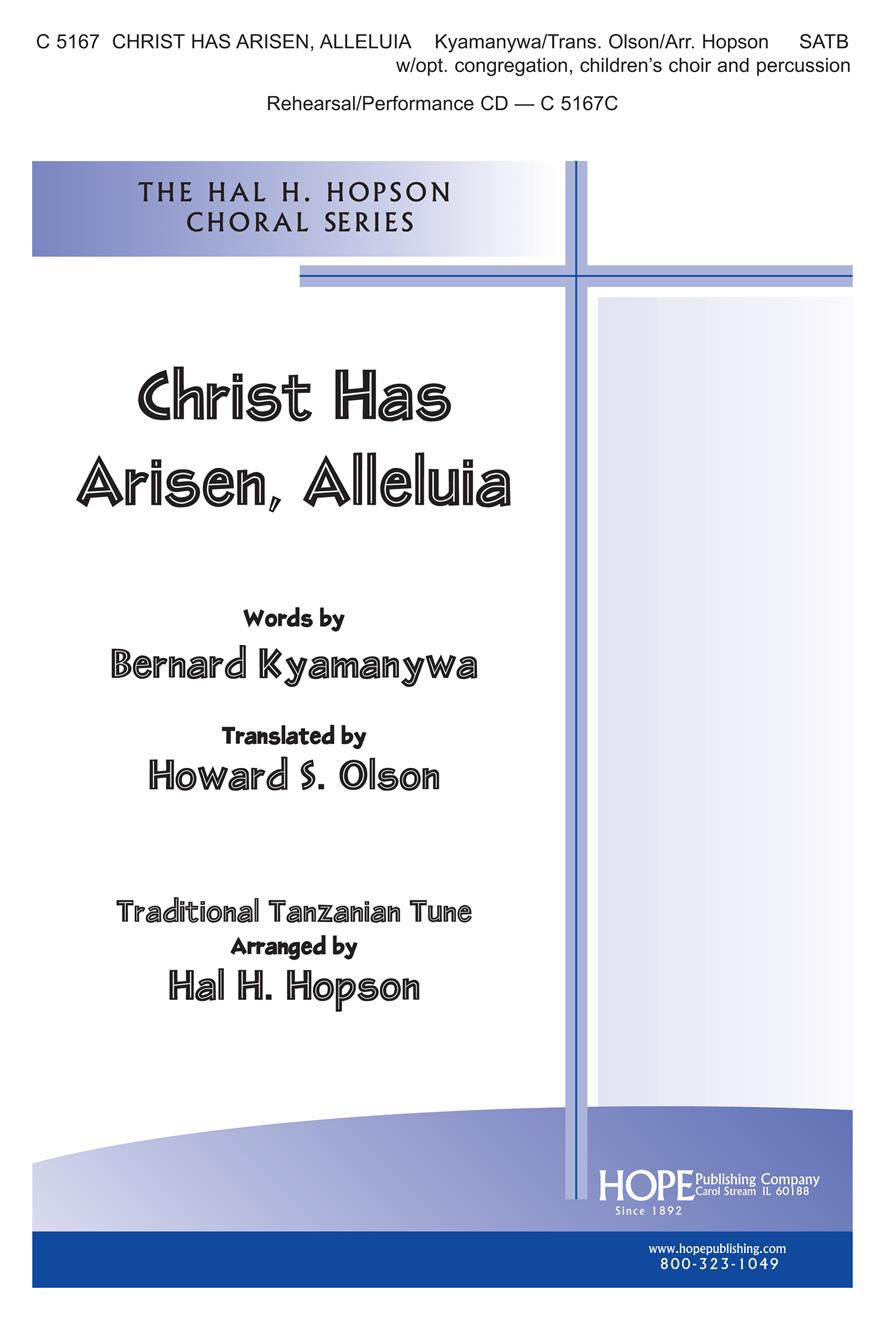 Christ Has Arisen Alleluia - SATB Cover Image