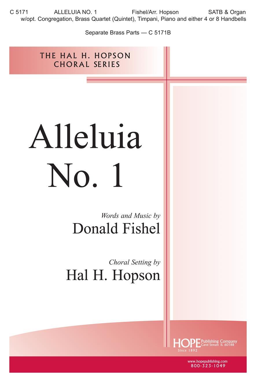 Alleluia No. 1 - SATB Cover Image