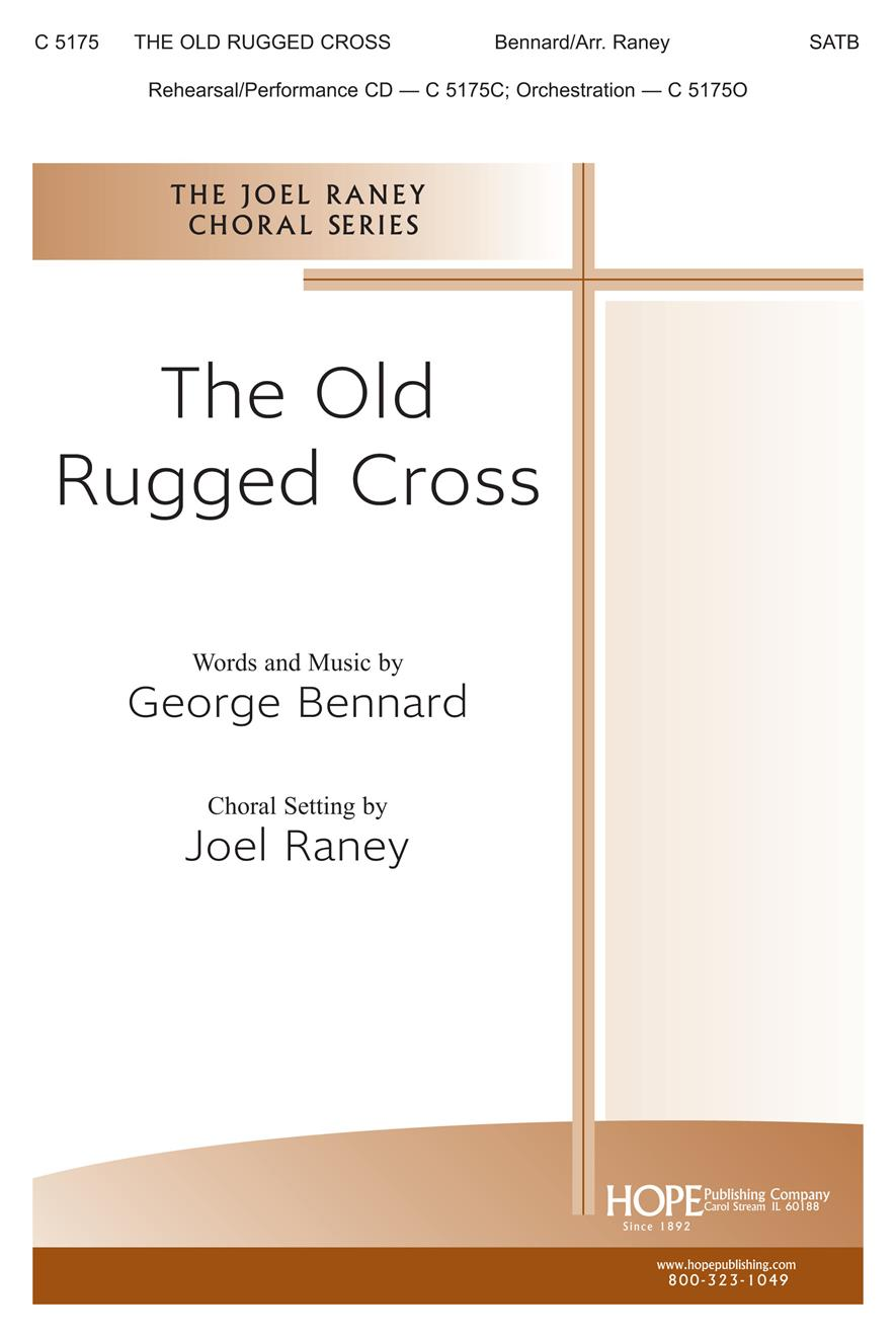 Old Rugged Cross The - SATB Cover Image