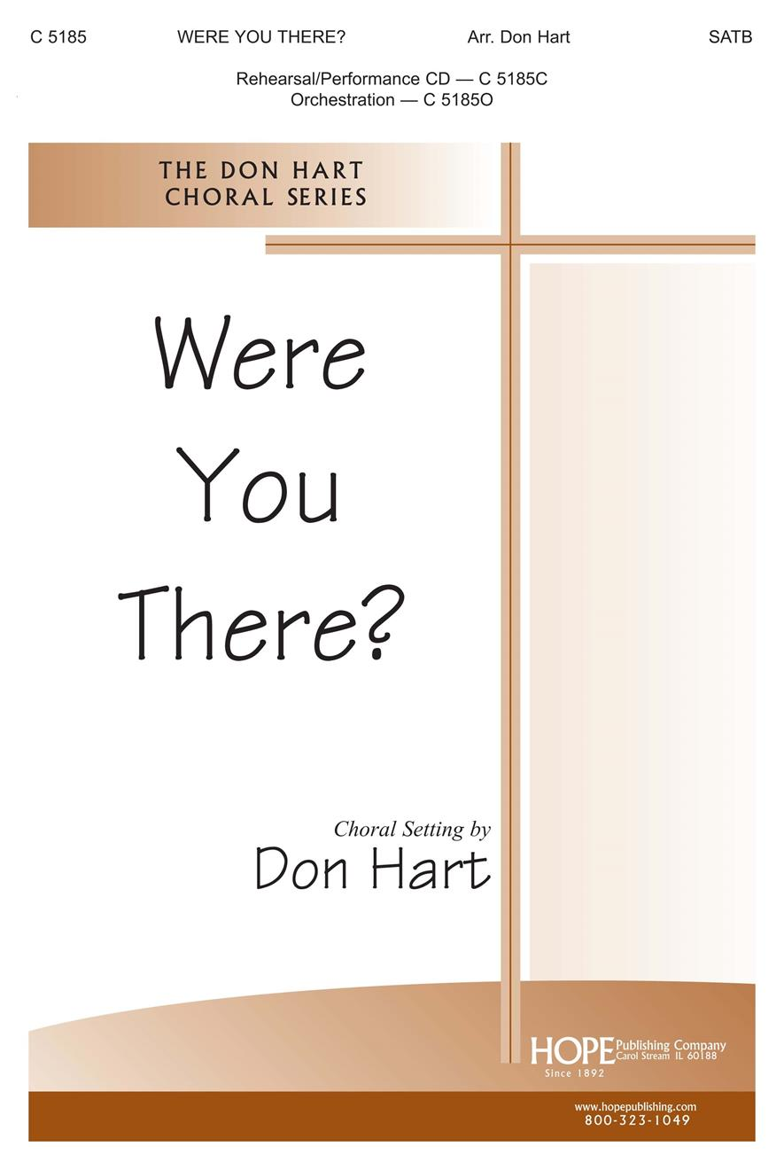 Were You There - SATB Cover Image