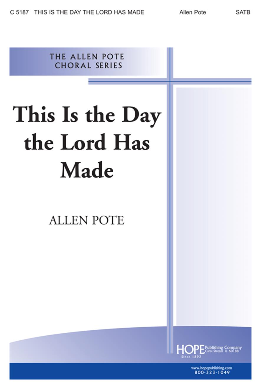 This Is the Day the Lord Has Made - SATB Cover Image