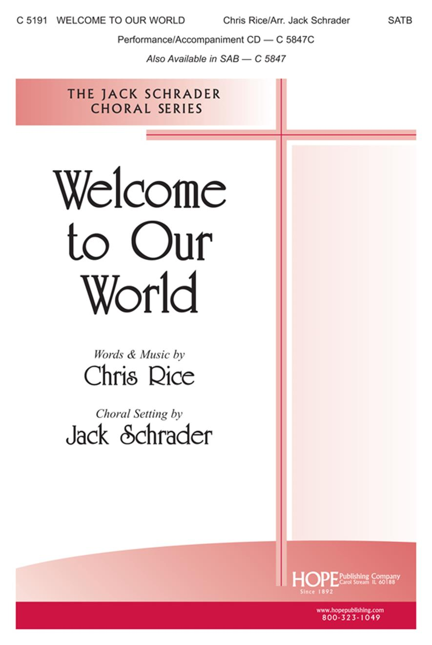 Welcome to Our World - SATB Cover Image