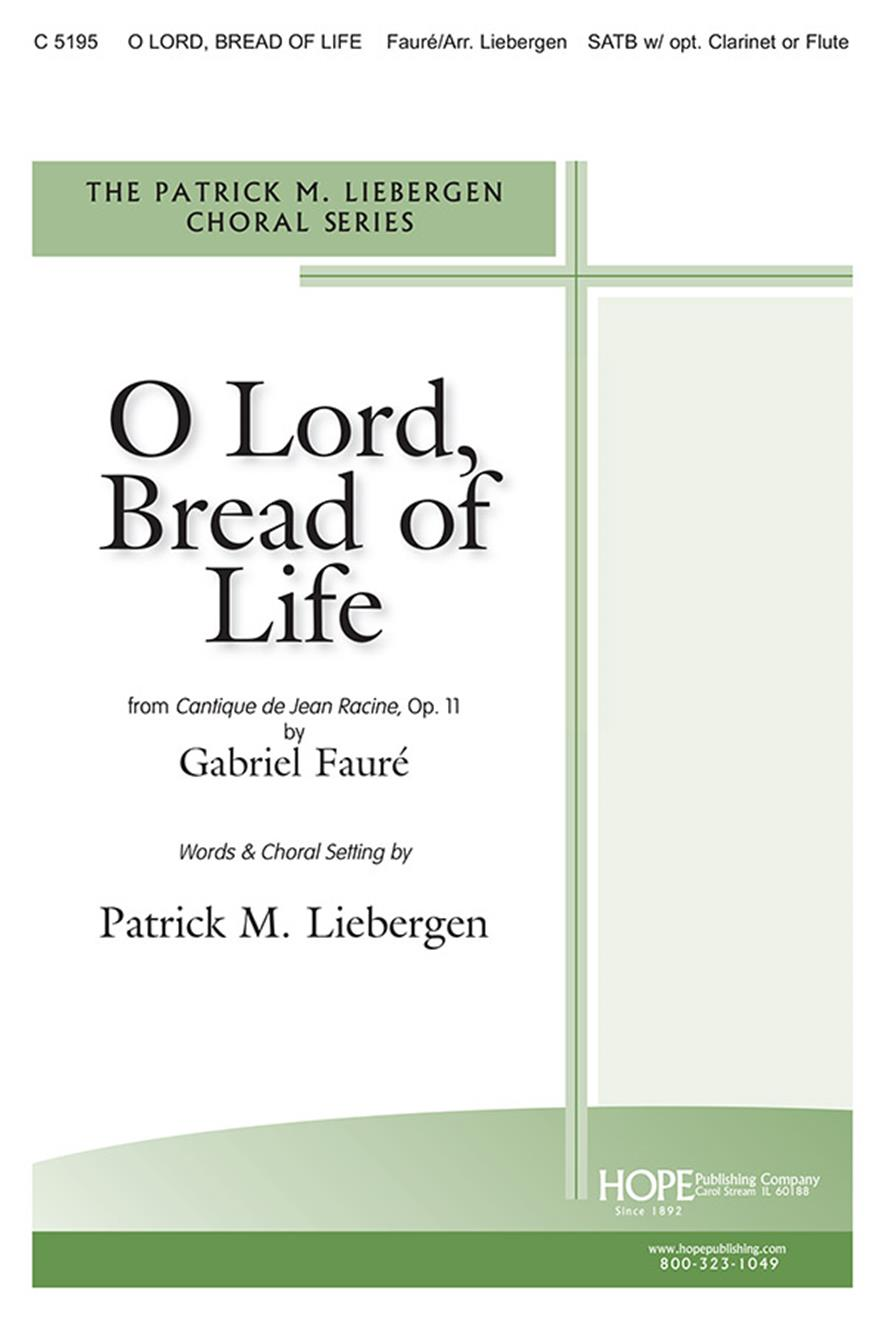 O Lord Bread of Life - SATB Cover Image