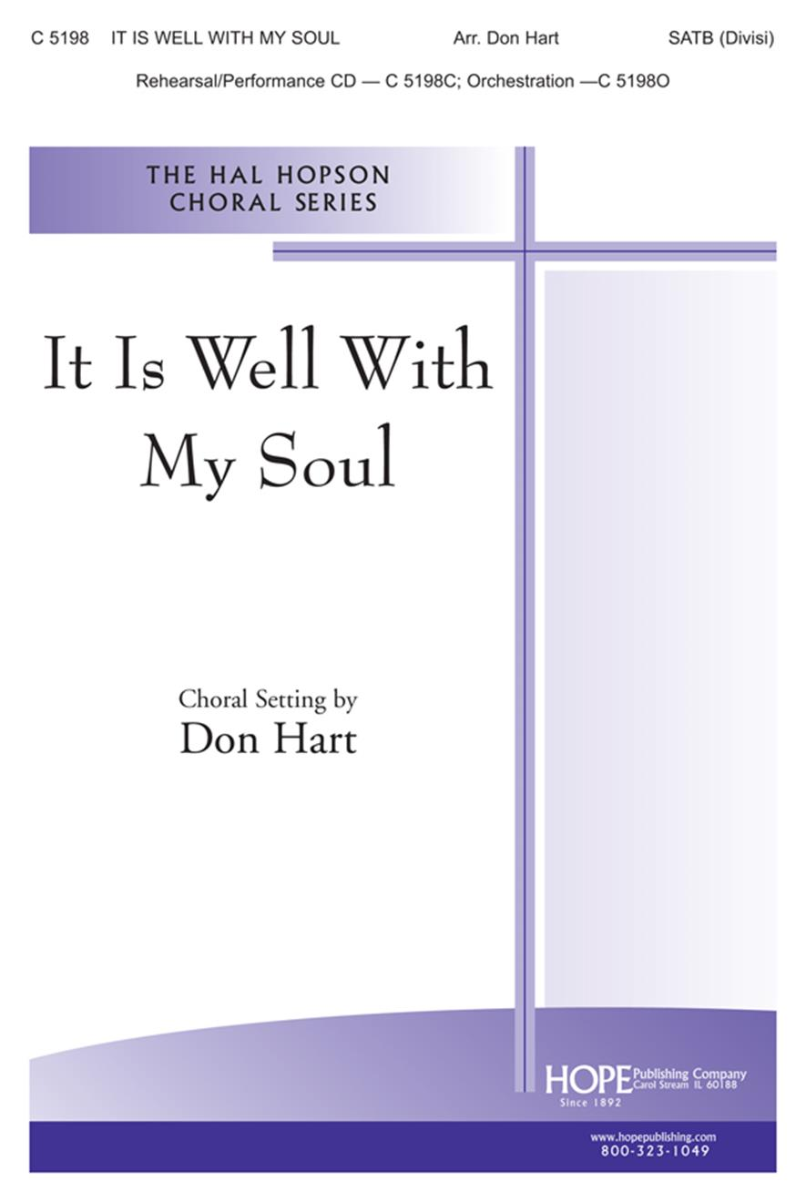 It Is Well With My Soul - SATB (Divisi) Cover Image